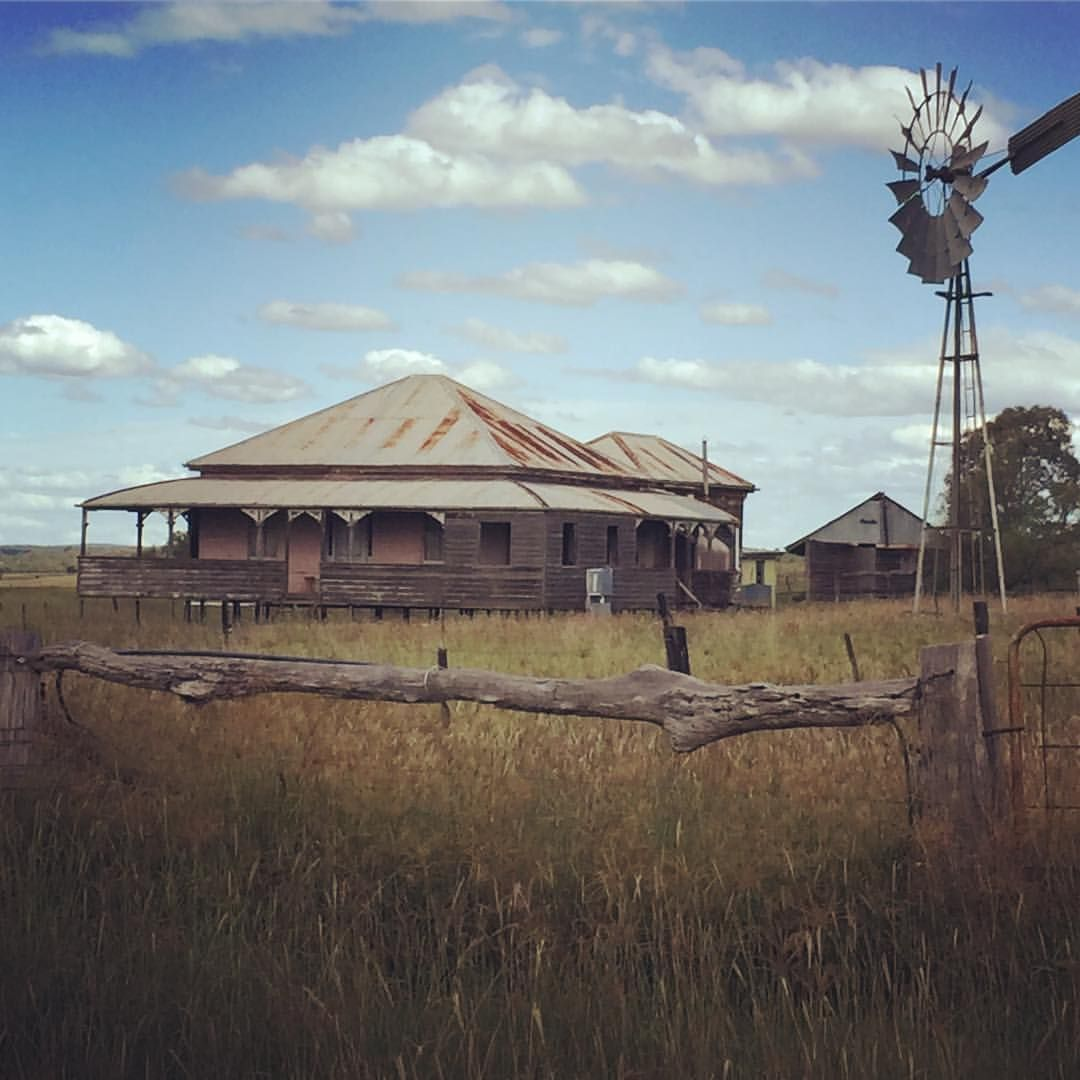 Abandoned Queenslander In A Place Called Back Plains Not