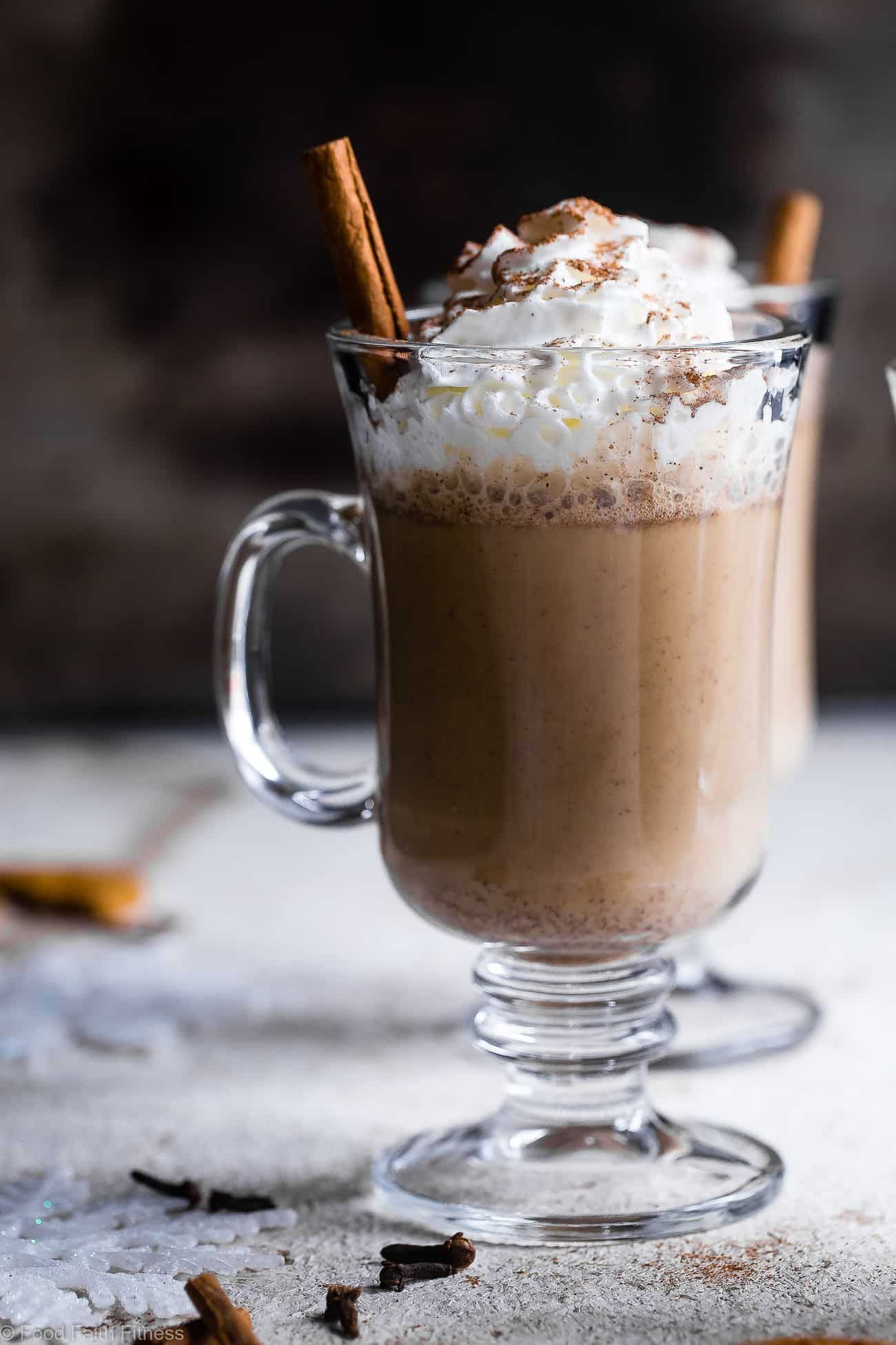 Ginger snap cookie steamer drink this easy warm cozy