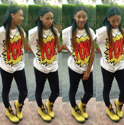 Black Dope Fashion Girl: Pin On HighSchool Fits