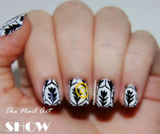 The Nail Art Show: 31 Day Challenge – Day 26: Inspired By A Pattern ...