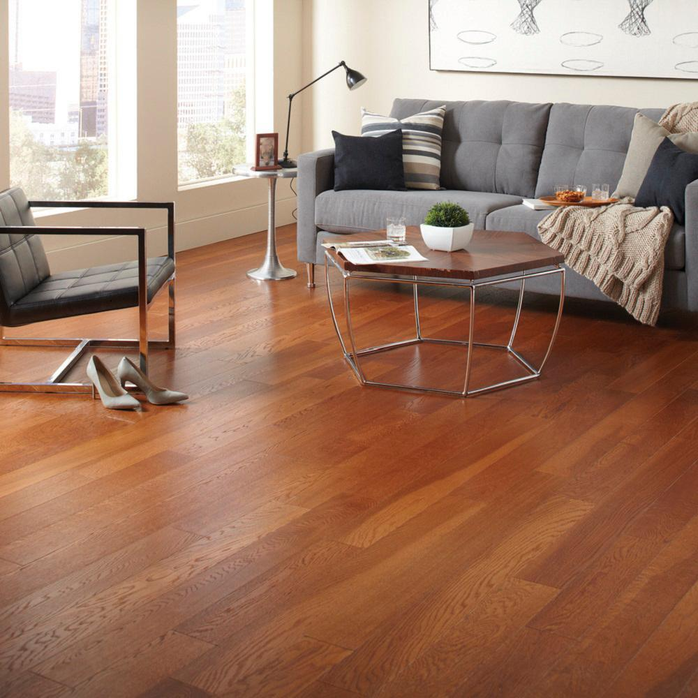 Home Legend Gunstock Oak 3 8 In Thick X 5 In Wide X Varying Length Click Lock Hardwood Flooring 19 686 Sq Ft Case Hl324h The Home Depot In 2020 Engineered Hardwood Flooring Hardwood Floors Flooring