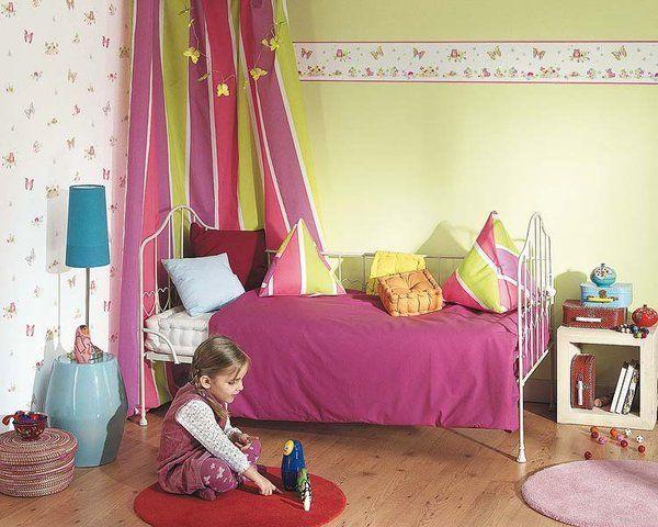 Dormitorios llenos de color y fantas a p rpura - Habitacion infantil nino ...