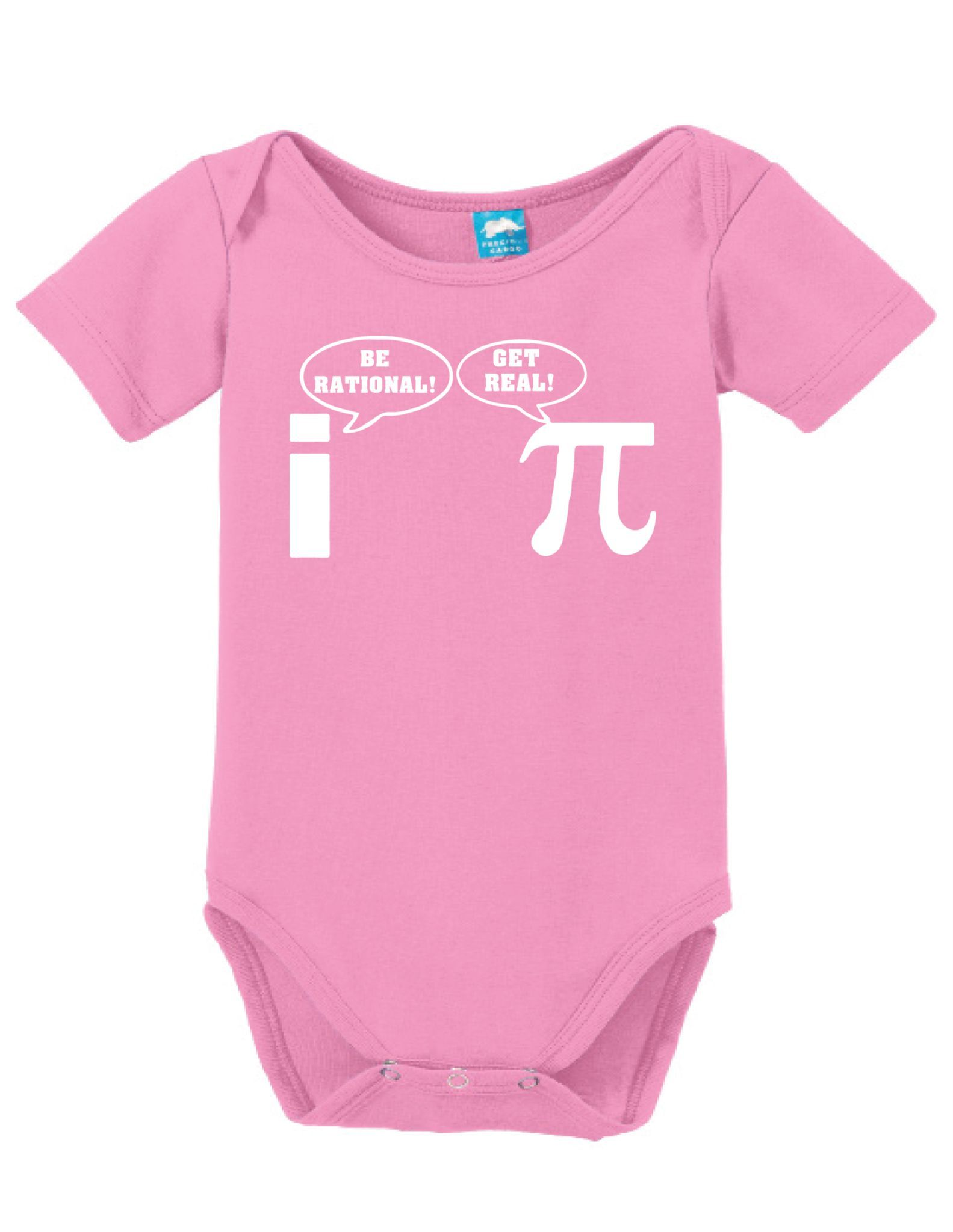 Pi Be Rational Onesie