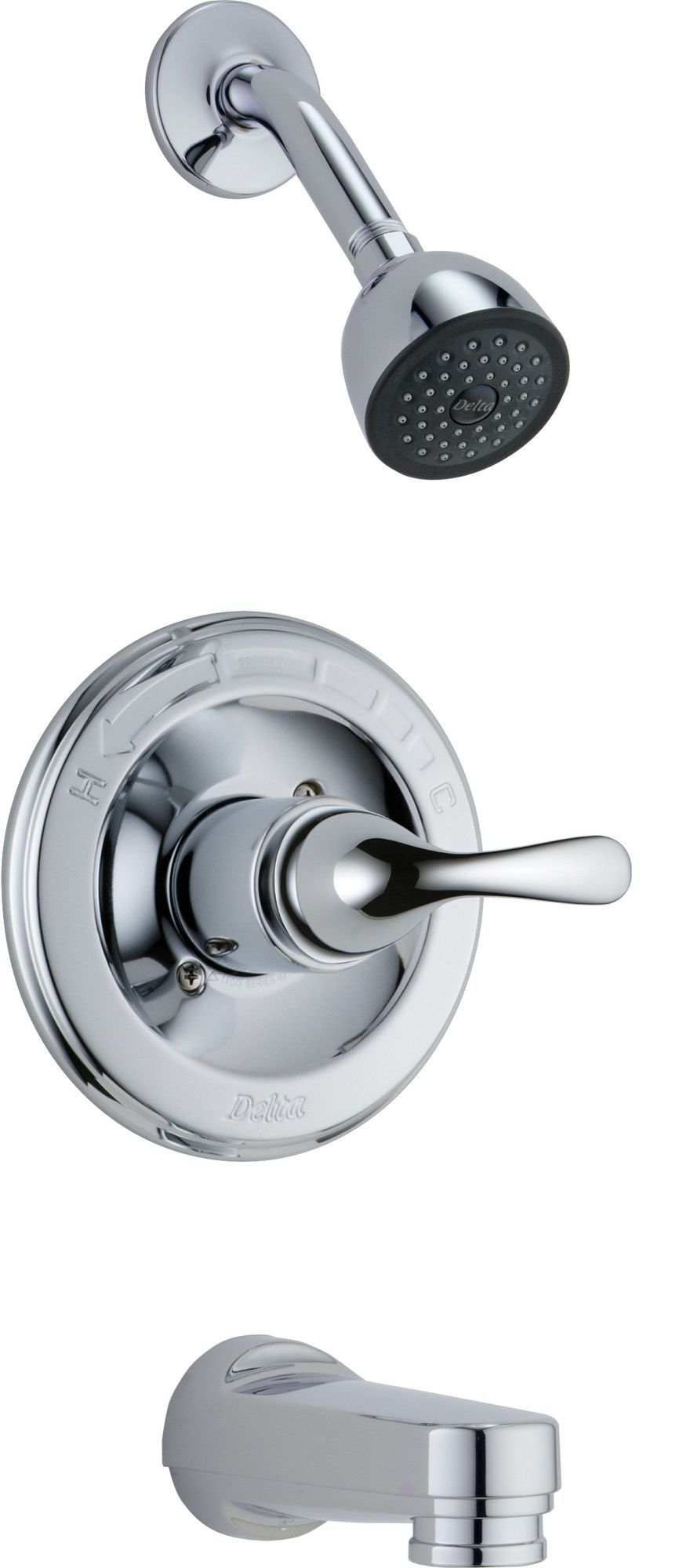 Other Core Tub And Shower Faucet With Lever Handles And Monitor