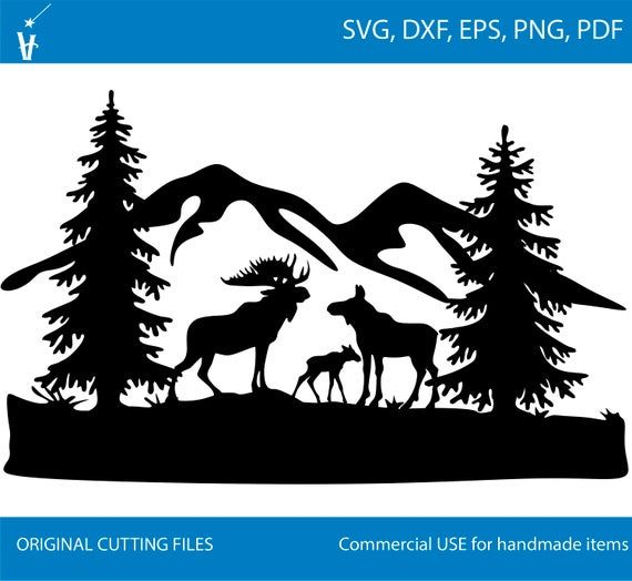 Bear Svg Mountains Hunting Svg Files For Cricut Ow Vozeli Com