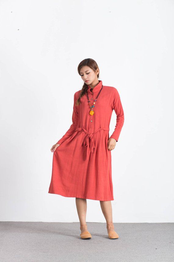 fae541ef9c561 Women s maxi dress cotton linen dress kaftan large size dress oversized  bridesmaid dress plus size c