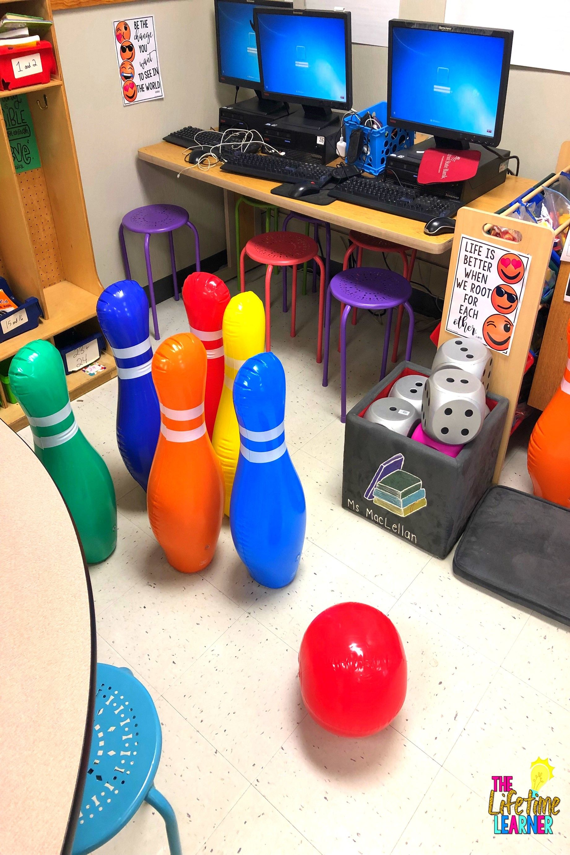 Check Out This Fun Bowling Classroom Transformation For