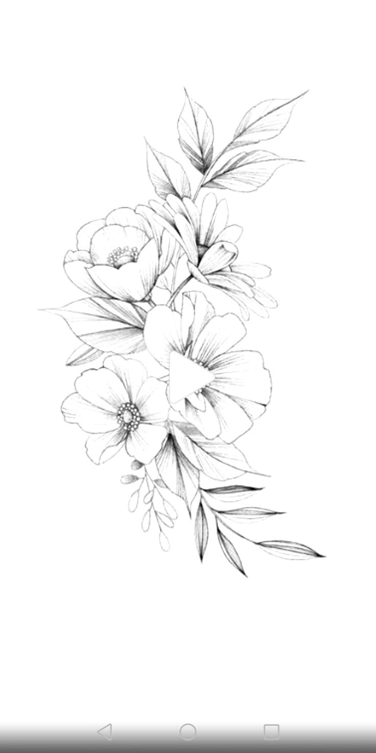 Http D Top4top Net P 31jswt2 Png Vintage Flower Tattoo Rose Tattoo Design Vintage Tattoo