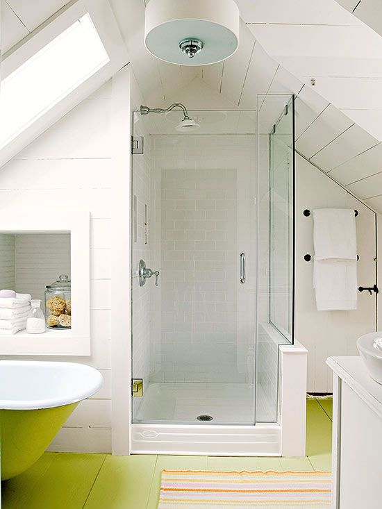 Small Bathrooms By Style Small Attic Bathroom Bathroom Design Small Bathroom