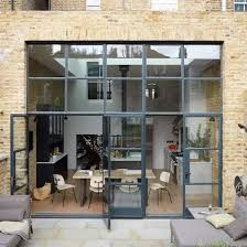 Image Result For Contemporary London Flat Roof Extension With - Porte placard coulissante jumelé avec serrurier ouverture de porte