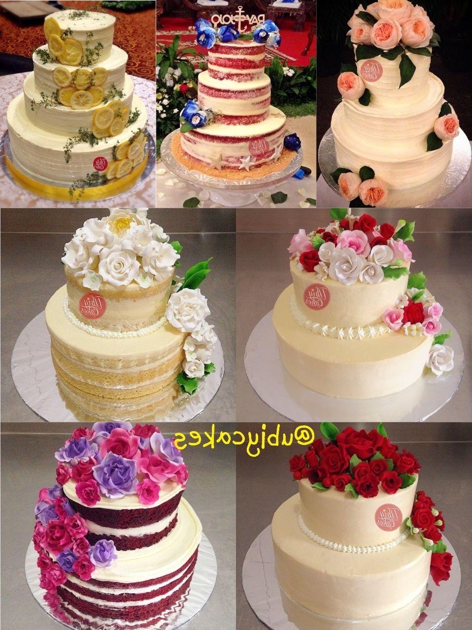 Harga Wedding Cake Cream And Lace Cake, Wedding cakes