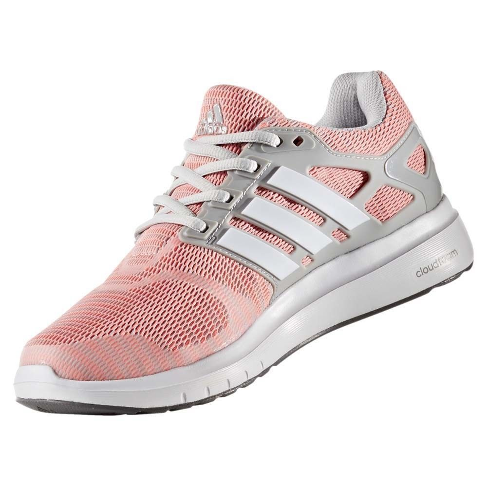 Adidas  mujer Pink GRIS Cloud V energía cg3037 Mesh Lace Up Athletic
