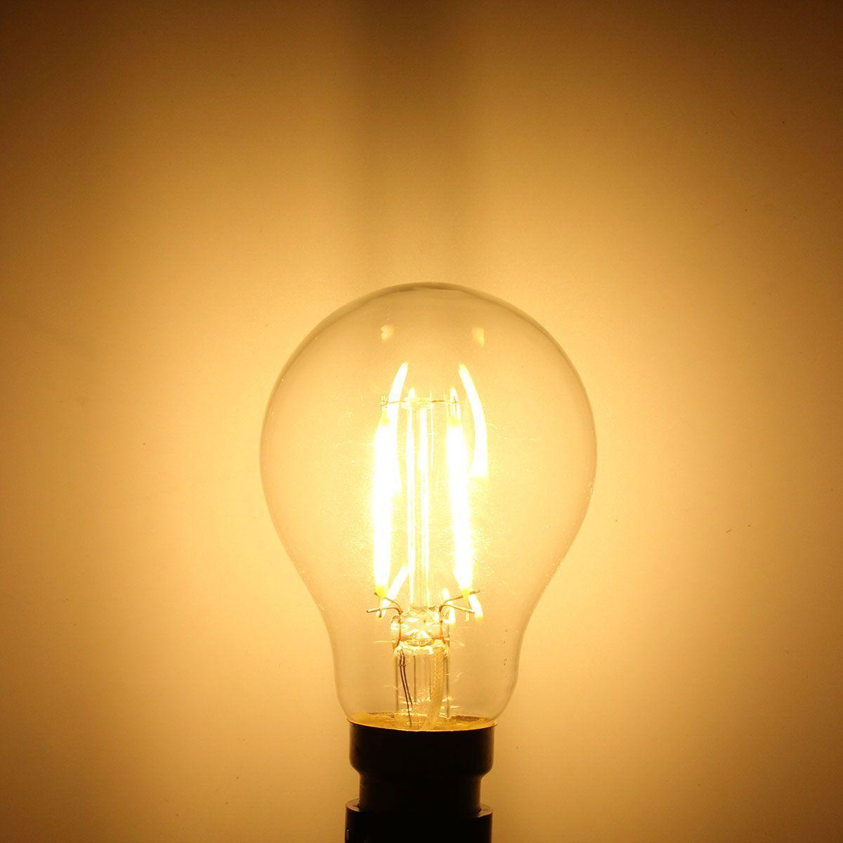 Wholesale Price Free Shipping B22 Led Bulbs A60 B22 4w White Warm White Cob Led Filament Retro Edison Bulbs Ac 220v Bulb Led Light Bulbs Bulb Edison Bulb