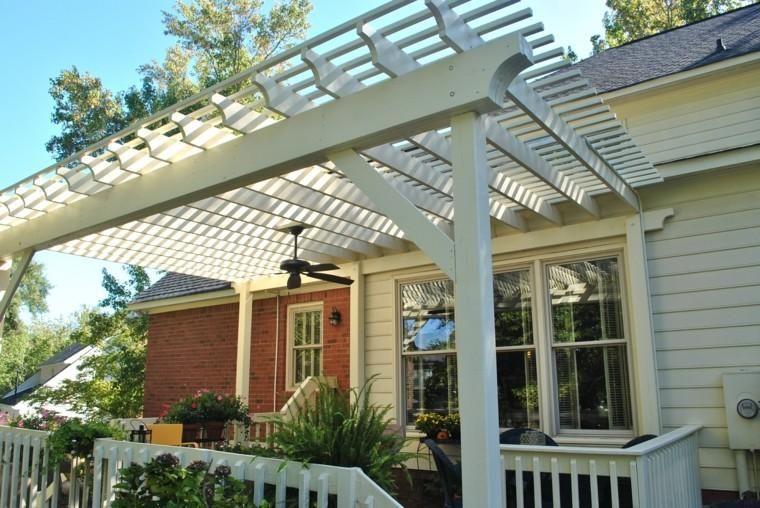 #Gartenterrasse Holzgarten Pergolen   Fünfzig Ideen #decor #dekor #garten  #besten #