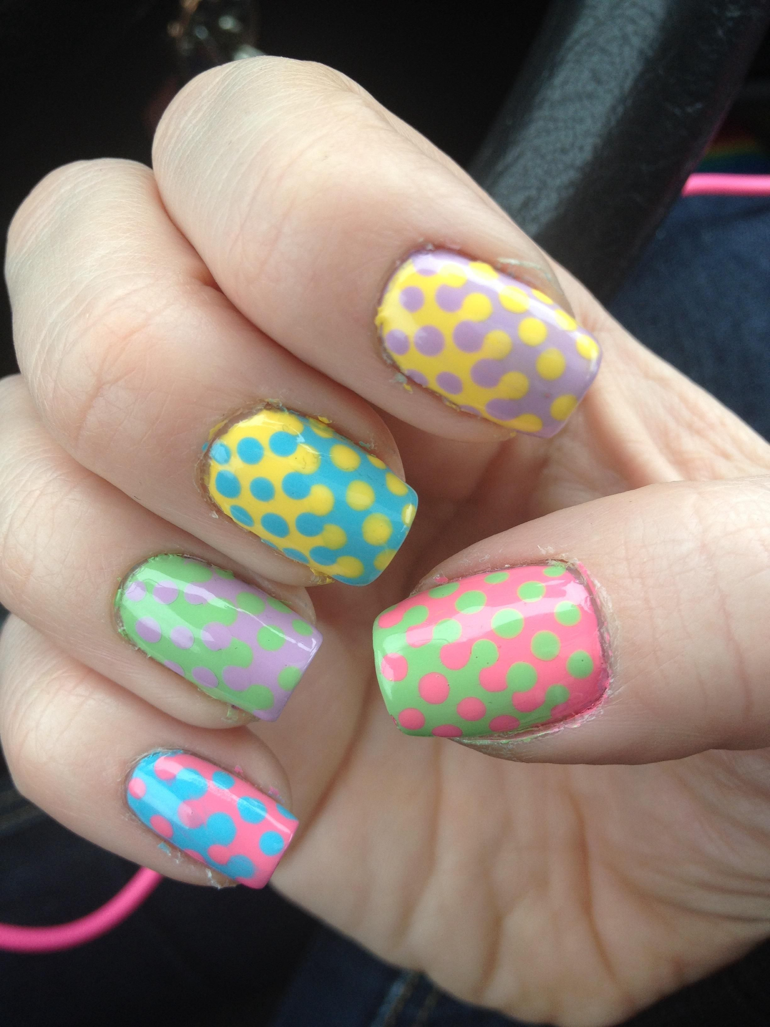 50 Spring Nail Art Ideas to Spruce Up Your Paws | Spring nails and ...