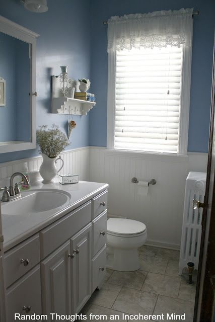 Cape Cod Bathroom Design Ideas Amusing Love This Blue Color Cape Cod Style Home Tour What A Charmer Decorating Design