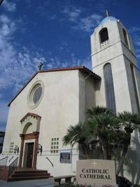 California Our Lady Of The Rosary Catholic Cathedral In San Bernardino Ca From Your Trinity Stores Crew With Images Catholic Old Churches Cathedral