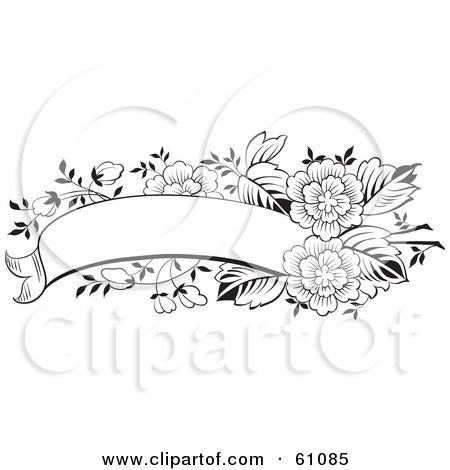Flower And Butterfly Printables With Letter F