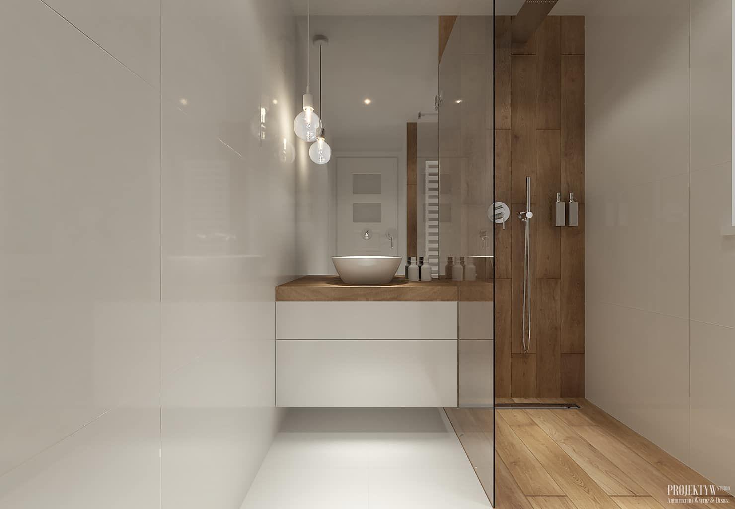 Skandinavische Badezimmer Von Projektyw Badezimmer Einrichtung Kleine Badezimmer Design Und Badezimmer Innenausstattung