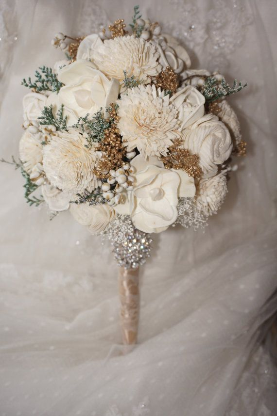 Wedding Bouquet, Vintage Bridal Bouquet, Romantic bouquet ...