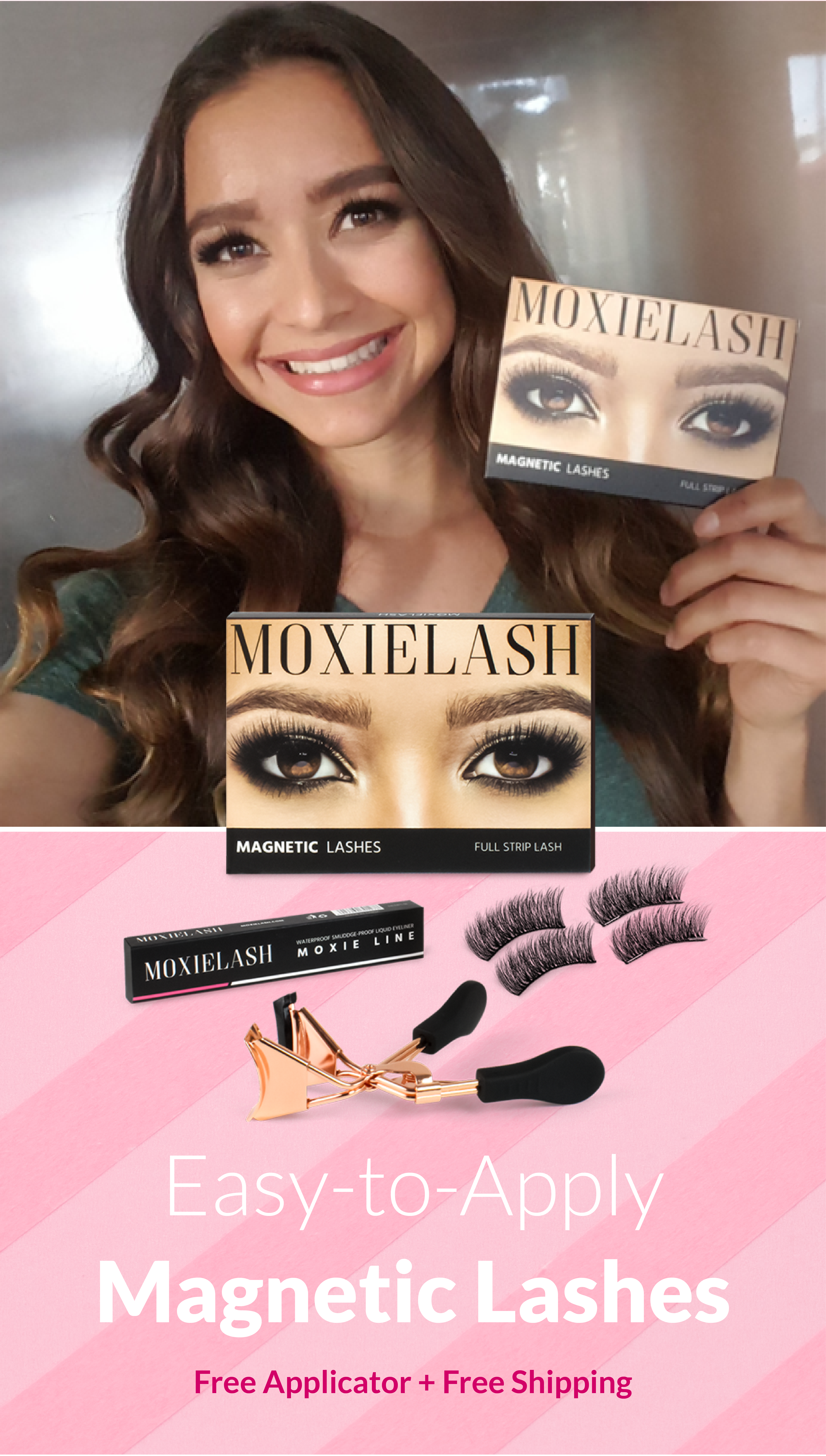 da1729ba915 Easy to Apply Magnetic Lashes from Moxie Lash! Click here to pick up your  free applicator 🙌🏻