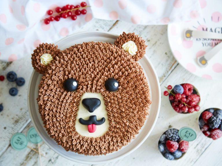 Susser Kindergeburtstag Mit Brummbar Schoko Torte Kuchen Kindergeburtstag Tiere Torte Kindergeburtstag Einfach Kuchen Kindergeburtstag