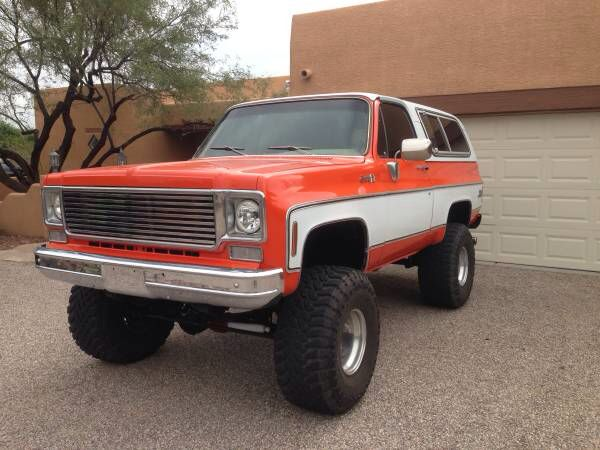 K5 Can Help But Love Classic Chevy Trucks Chevy Blazer K5