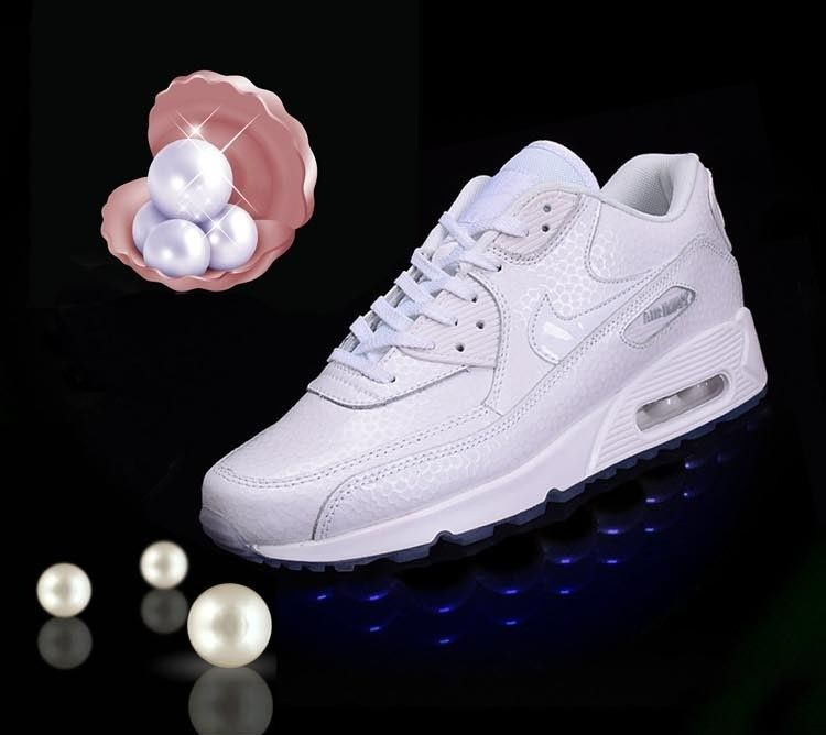 Nike Air Max 90 casual shoes Pearl White Pack Mens & womens