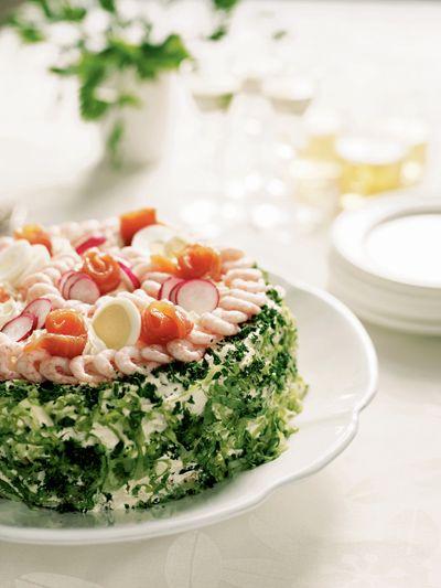 Smorgastarta Sandwich Layer cake