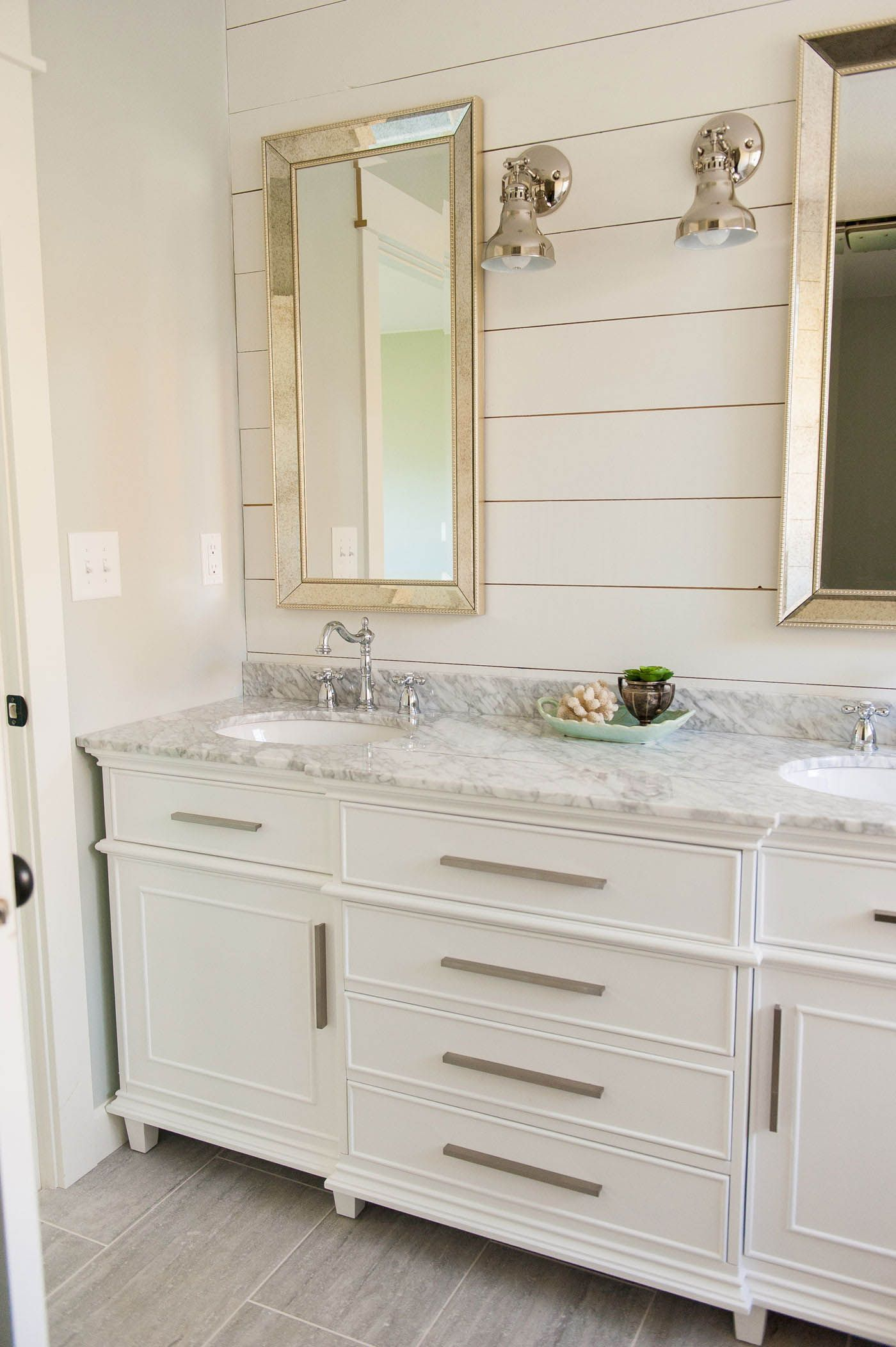 The Ultimate Guide To Buying A Bathroom Vanity With Images Double Vanity Bathroom Bathrooms Remodel Half Bathroom Remodel