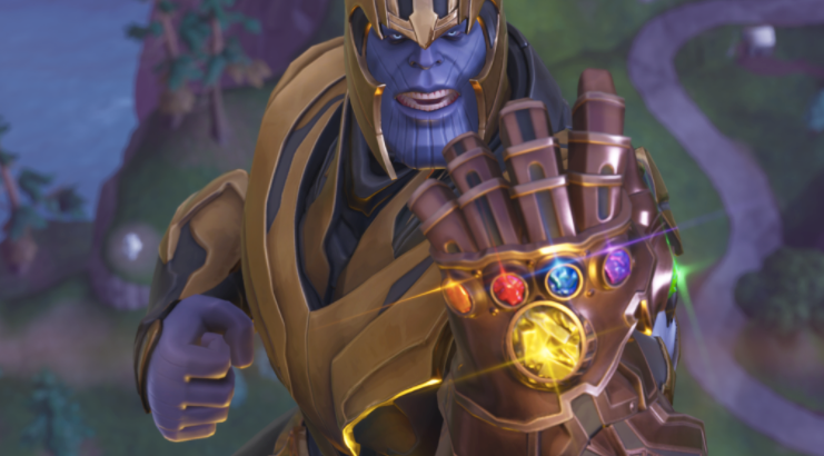 Fortnite Update Changes Thanos Yet Again gaming