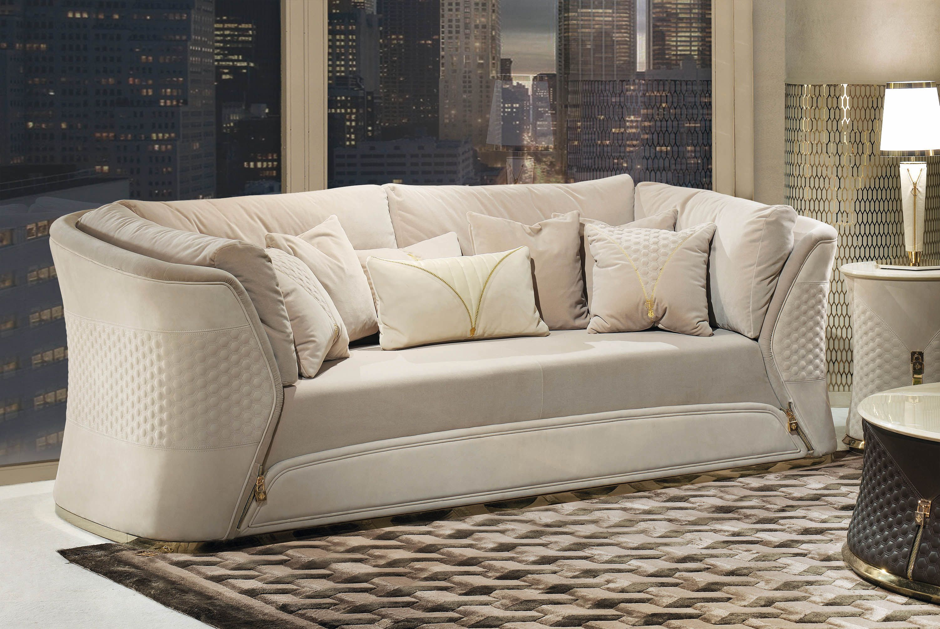 Vogue Collection Luxury italian sofa