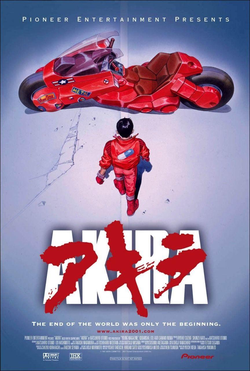 Pin de Samuel McMillan em ANIME/tastic   Akira poster, Pôsteres de filmes, Akira