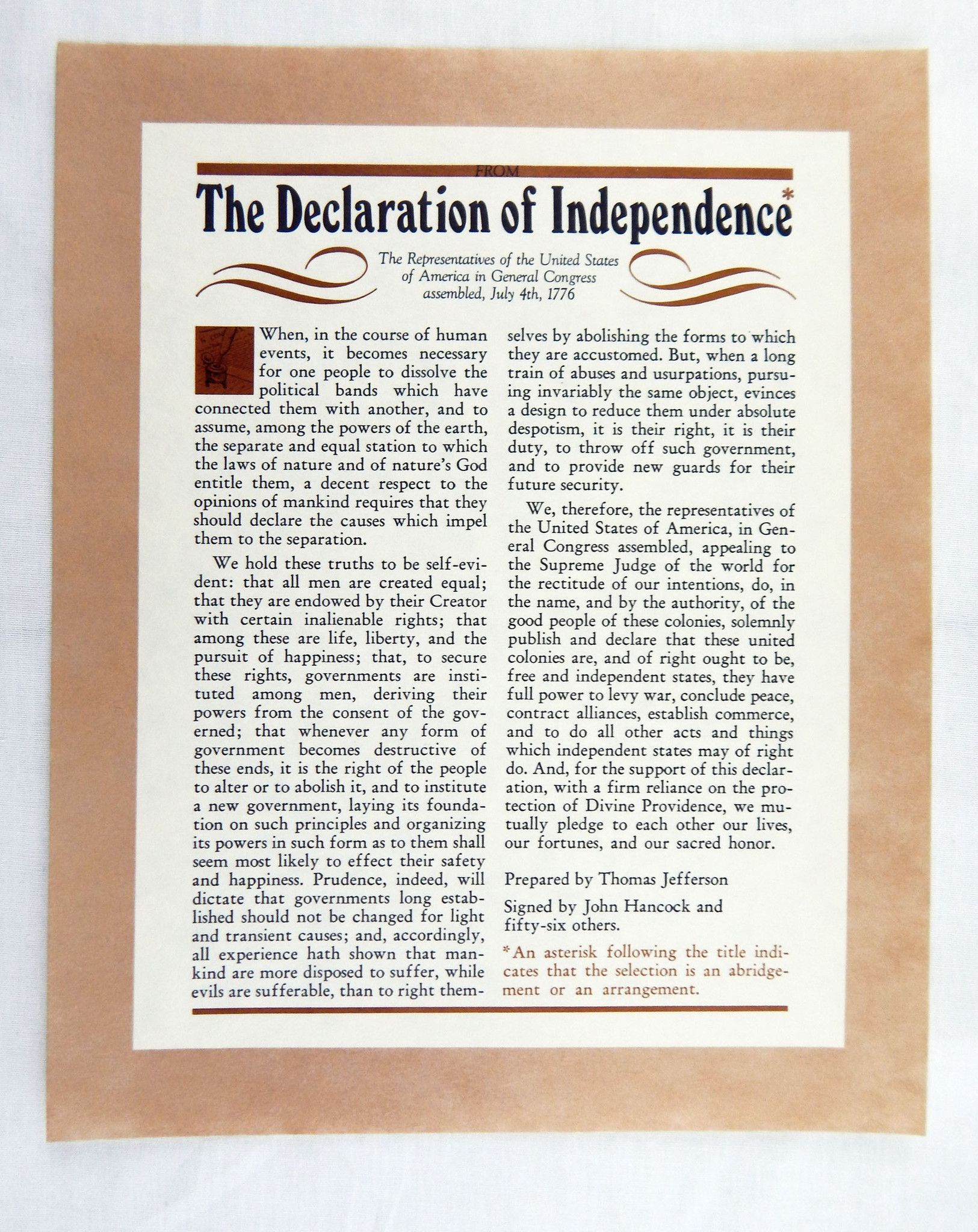 Vintage S Historical Documents And Lincoln Speech 6