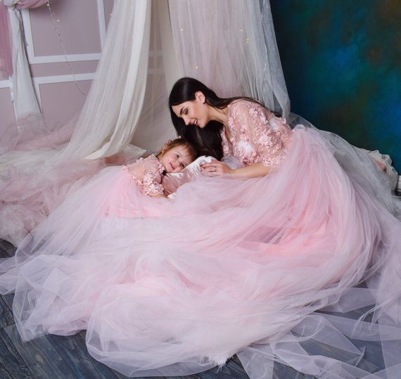 64c2fa35b1d5 Mother Daughter matching Dress