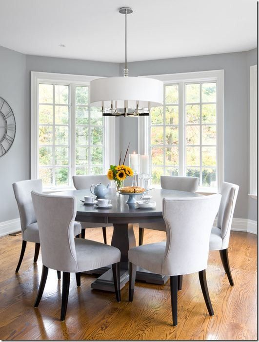 ff16d3ce6f Lovely Coventry Grey HC-169 Benjamin Moore | J. Mayo | Dining room ...