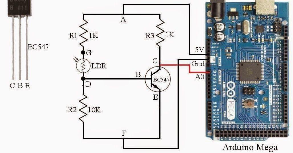 How To Measure Light Intensity Using Arduino And Ldr, Measuring Light  Intensity Using Light Depending