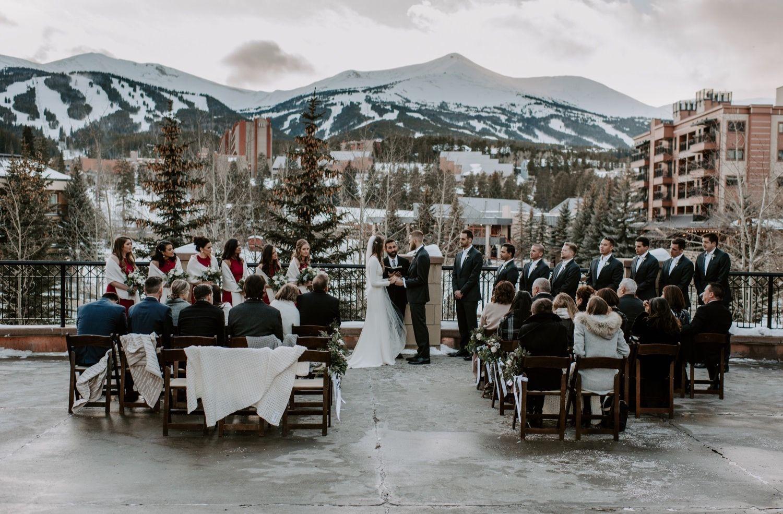 Post Breckenridge wedding, Mountain wedding colorado
