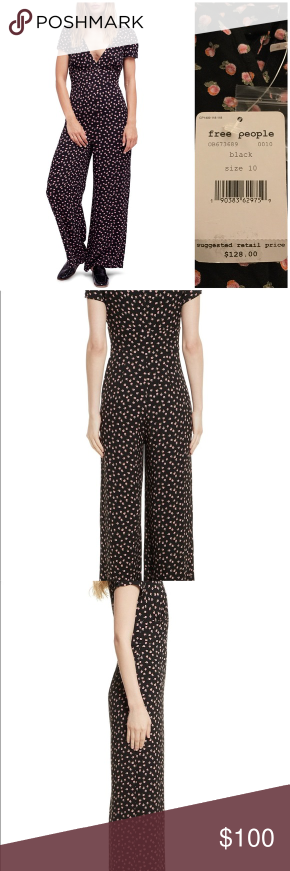 4fd0a8ff82d0 Free People Mia short sleeve jumpsuit Perfectly suited for weekend  adventures