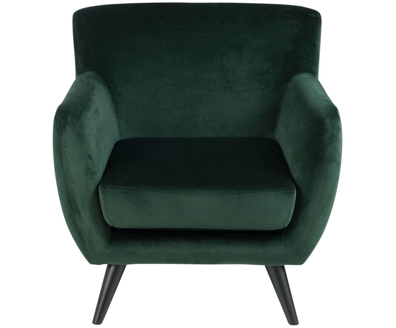 Mit Samt Sessel Mae In Grün Verwandeln Sie Ihr Wohnzimmer In Eine