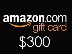 Win 300 Amazon Gift Card Amazon Gift Card Free Amazon Gifts Amazon Gift Cards