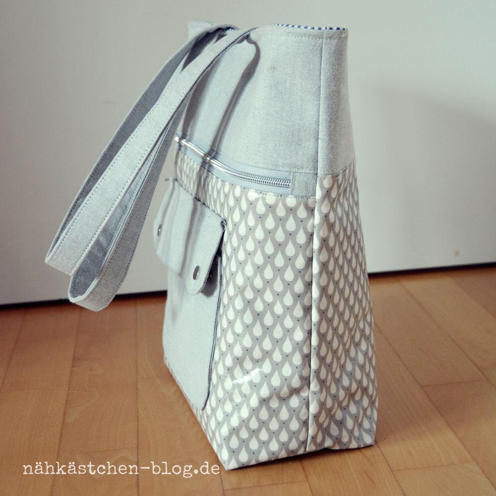 Taschen   nähkästchen-blog.de   jeanssommertasche   Pinterest ...
