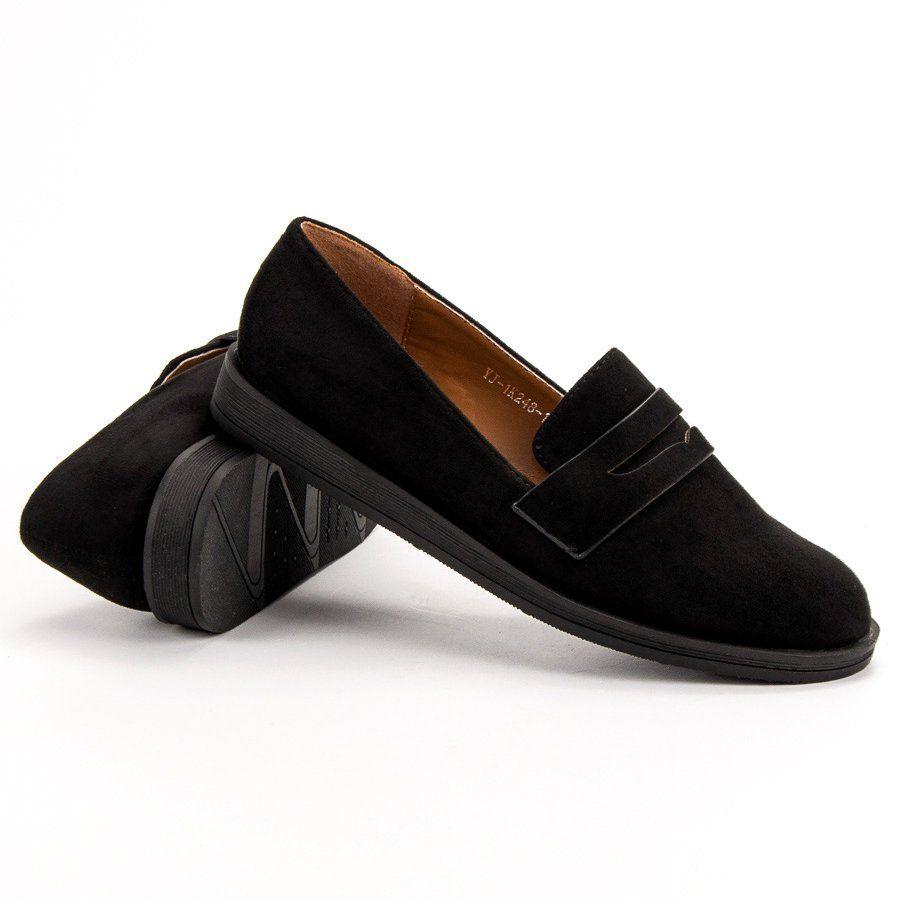 9c3758d5ffa11 #Mokasyny #Damskie #BestShoes #Best #Shoes #Czarne #Casualowe #Mokasyny