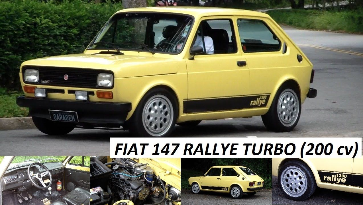 Garagem Do Bellote Tv Fiat 147 Rallye Turbo Freios A Disco