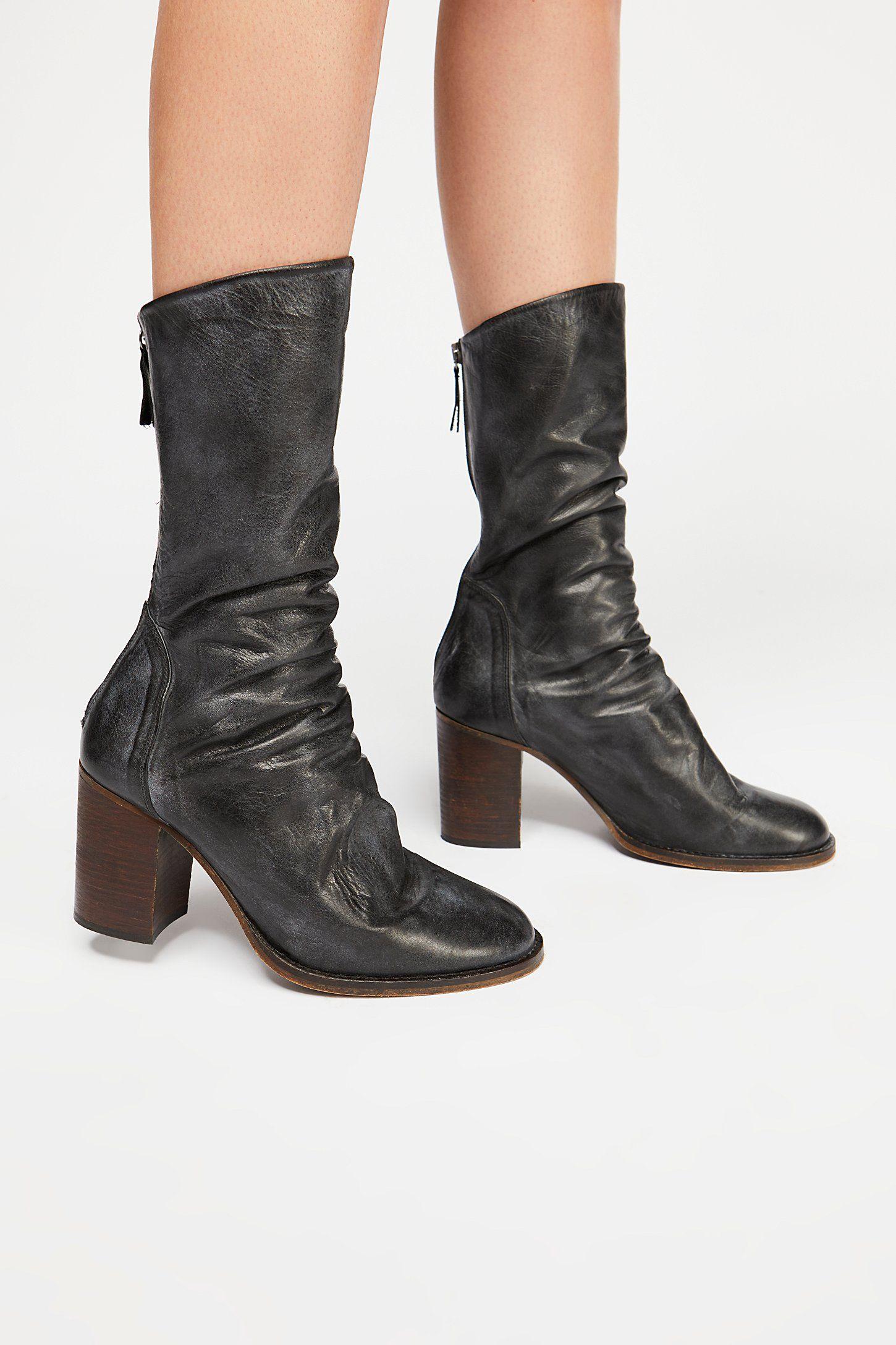 8e08e3b1bae Elle Block Heel Boot