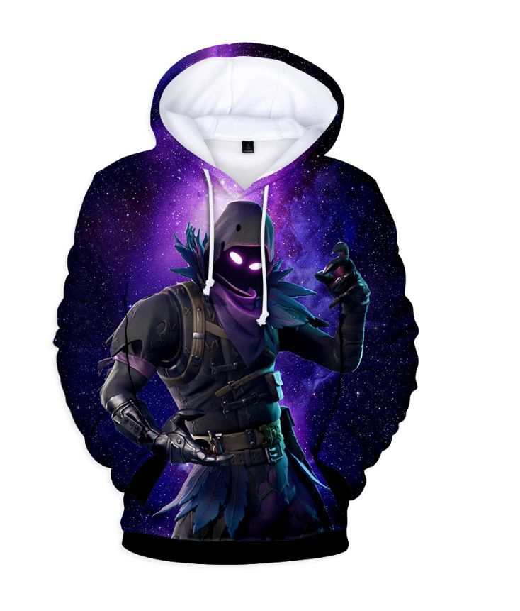 100af38ad67 HOT FORTNITE Game 3D Print Hoodies Sweatshirts Raven Battle Royale ALL SIZE   fortnite  Canada  game