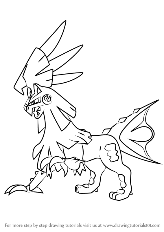 Learn How To Draw Silvally From Pokemon Sun And Moon Pokemon Sun And Moon Step By Step Drawing Pokemon Coloring Pages Pokemon Coloring Moon Coloring Pages