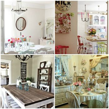 Decor 350 350 comedores y muebles vintage - Comedores estilo vintage ...