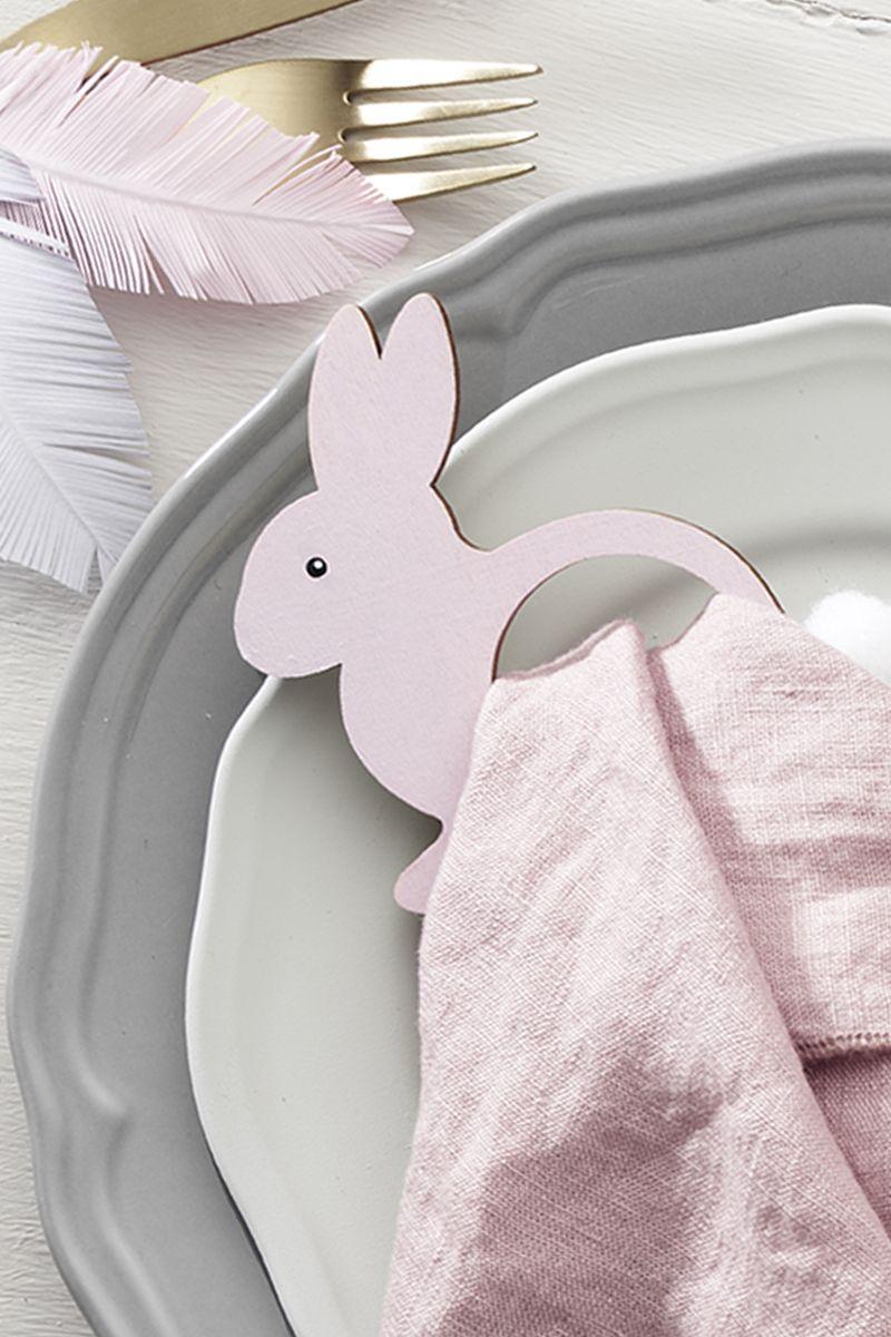 DIY napkin ring for Easter DIY Panduro table setting
