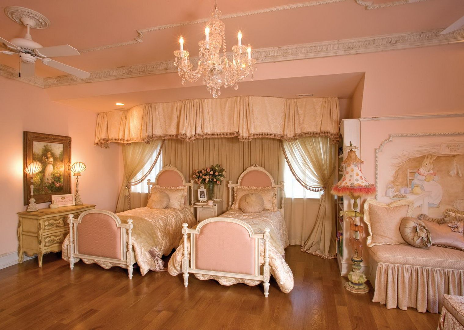 Mansion Bedrooms For Girls princess bedroom - french flair: showcase - cote d'azur - custom